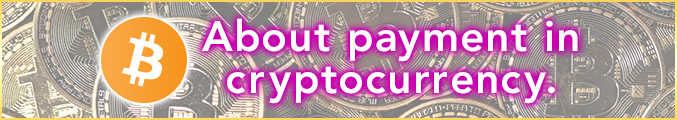 About payment in cryptocurrency