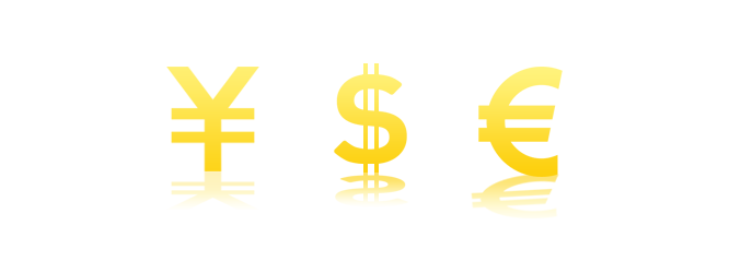 You can pay even cash of the US dollar and the euro.