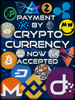 Cryptocurrency is available!!!